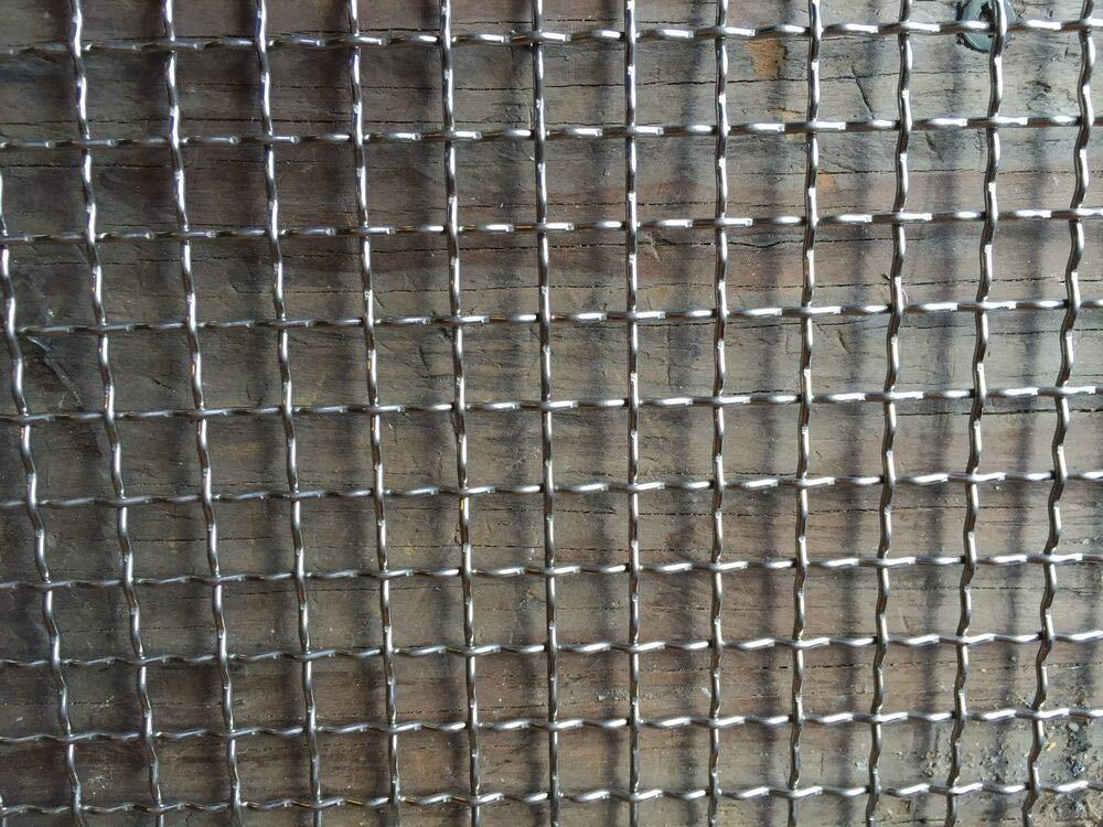 """Stainless Steel Crimped 304 Mesh #2 .063  Cloth Screen 12/""""x12/"""""""
