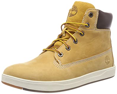 dca9c4b98ae1a Amazon.com | Timberland Davis Square 6 Inch Boot Wheat Nubuck Youth Ankle  Boots | Shoes