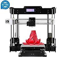 Imprimante 3D A8 (Y5) de Bureau DIY Imprimante 3D Auto-assemblable Kit Prusa i3 Imprimantes 3D de Haute précision avec écran LCD Kit 3D imprimante, Tigtak (Taille de la Plateforme 220 * 220 * 240)