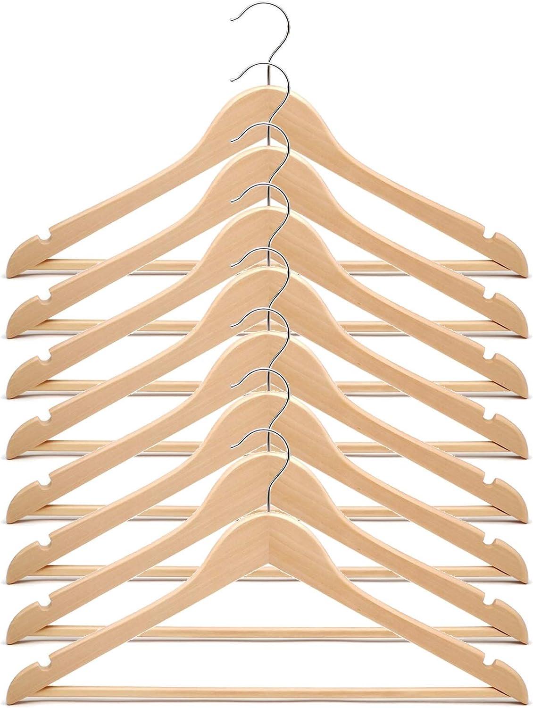 IKEA Bumerang 17 Ancho Pantalones Falda Abrigo de Madera Perchas ...