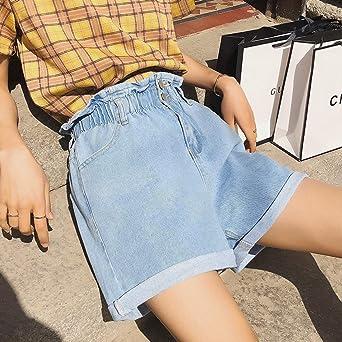 con dobladillo deshilachado pantalones cortos de verano casuales BETTE BOUTIK Pantalones cortos de mezclilla para mujer