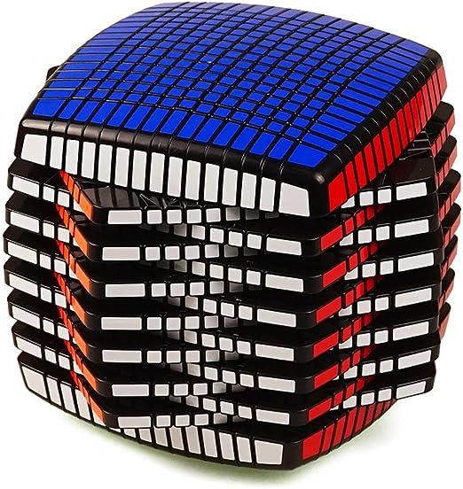 HXGL-Cubos Mágicos Rompecabezas Del Cubo 3D Cubo De La Velocidad Cubo Mágico Del Rompecabezas Del Cubo 15x15 Dedo Juguetes For El Estudiante Con El Regalo De Pan De Alta Dificultad Forma De