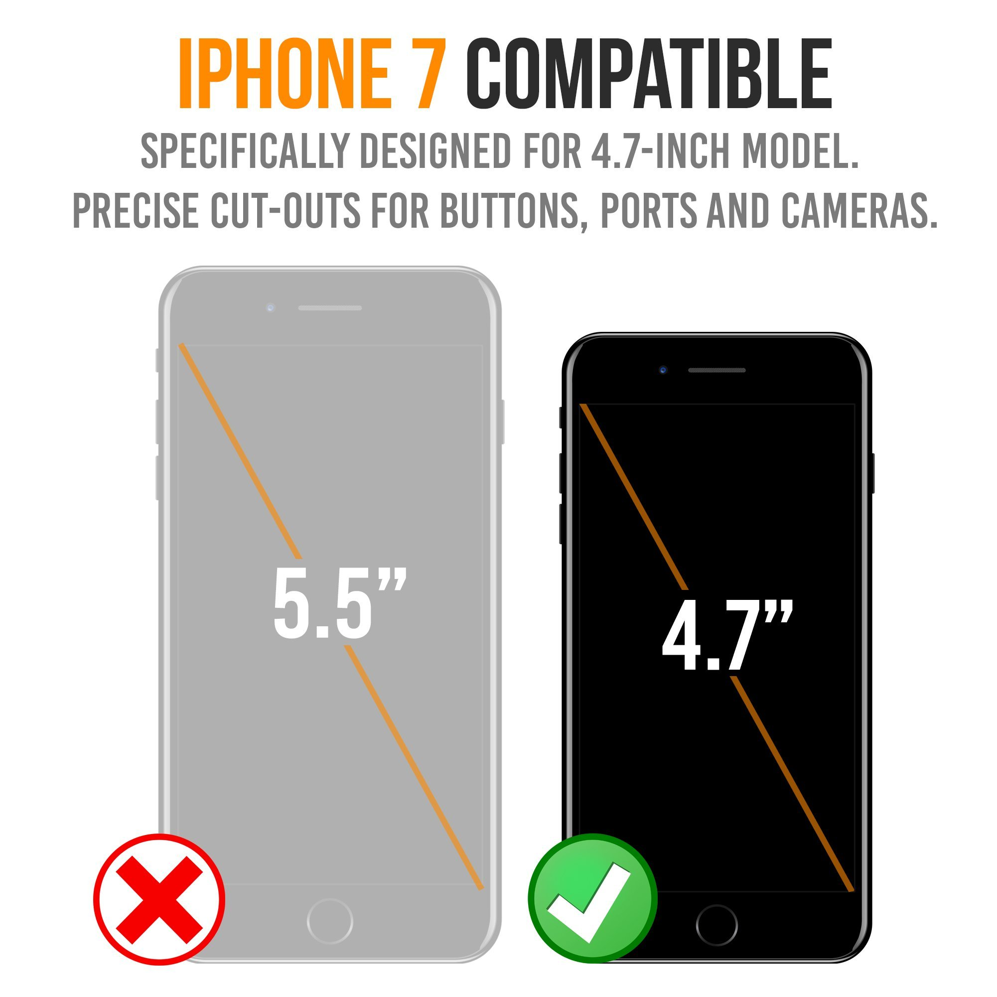 iPhone 7 Battery Case, Alpatronix BX180 4.7-inch 3200mAh Ultra Slim External Rechargeable Extended Protective Portable Charging Case & Charger Cover for iPhone7 [Apple Certified Chip] - Matte Black by Alpatronix (Image #6)