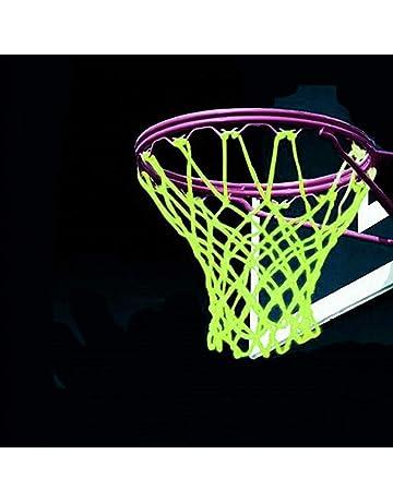 992f2dfed445c2 lailai Outdoor Glow in The Dark Basketball Net Portable Sun Powered Sports  Nylon Basketball Hoop Net