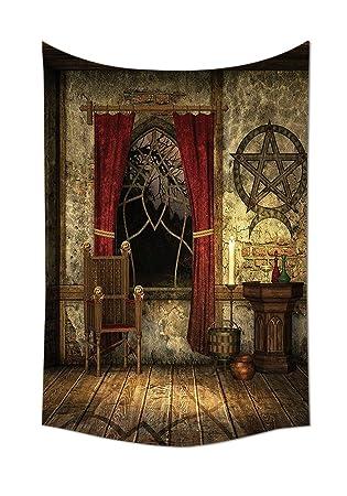Amazon.de: Gothic House Decor Kollektion Pentagramm Symbol in ...
