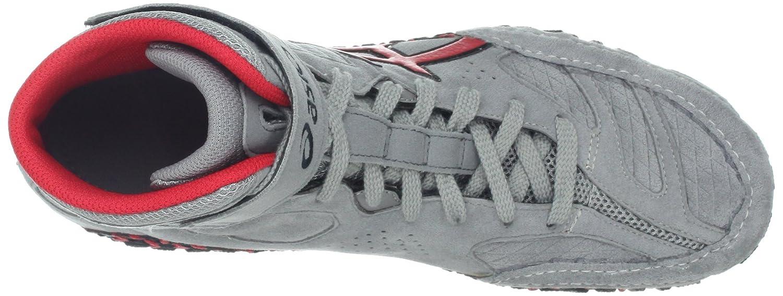 ASICS Herren Aggressor 2-m, Black/Onyx/Silver, 38 EU Grey/Red/Black