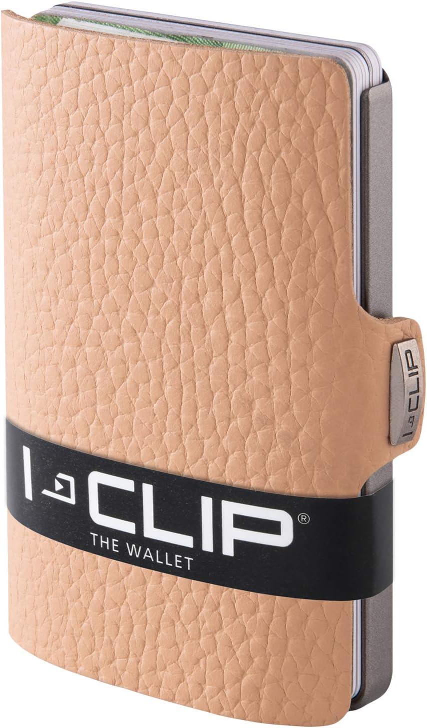 disponibles en 7 mod/èle I-CLIP Portefeuille Compact beige