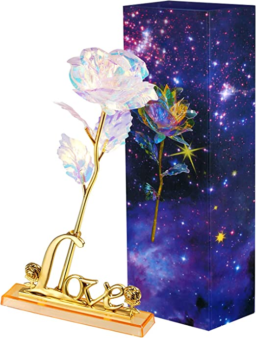 Galaxy Rose with Love Base Free Shipping