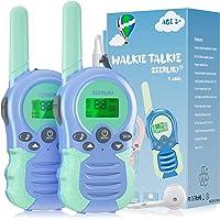 Walkie Talkies para niños, Juguetes para niñas de 3 a 12 años, 8 Canales, escaneo VOX, Rango de 3 km para Aventuras al…