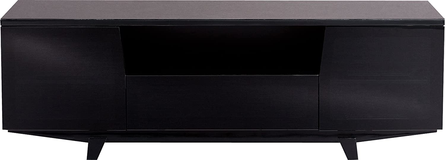 Amazon.com: BDI Marina 8729 2 Triple Wide Entertainment Cabinet, Gloss Black:  Home U0026 Kitchen