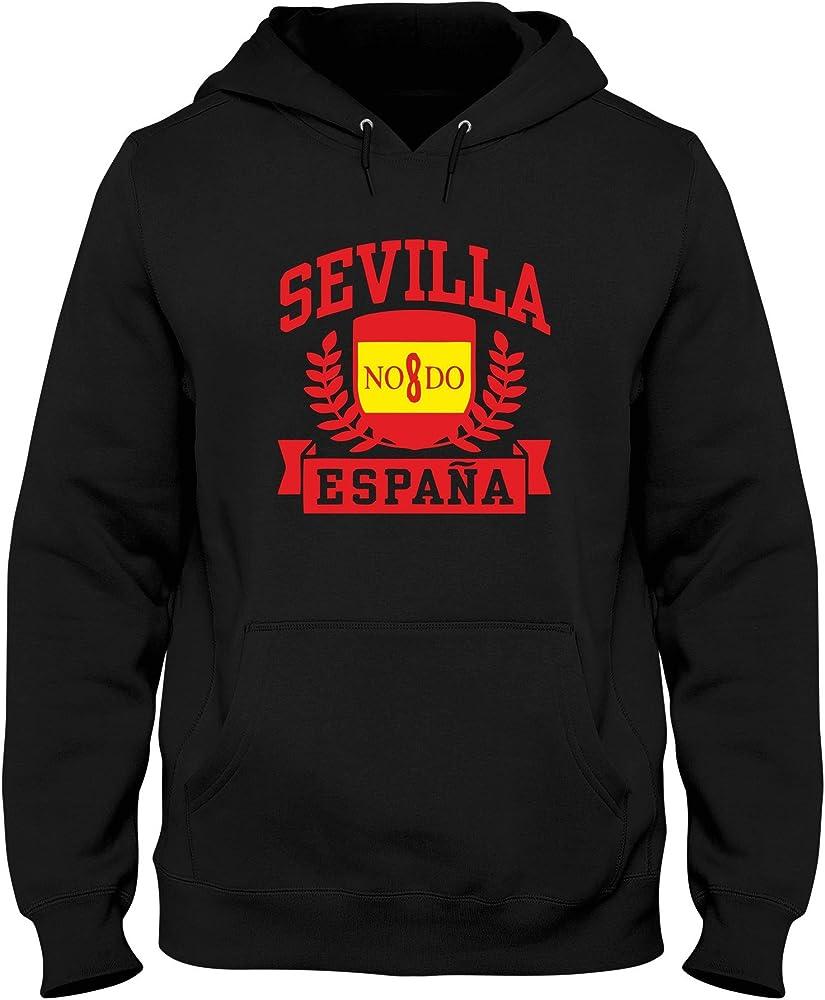 Speed Shirt Sudadera con Capucha Hombre Negro TSTEM0205 Sevilla ...