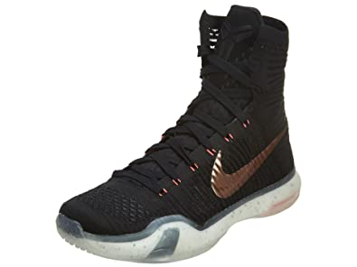 best website 2a092 40a2e Nike Mens Kobe X Elite, ROSE GOLD-BLACK METALLIC RED BRONZE-WHITE
