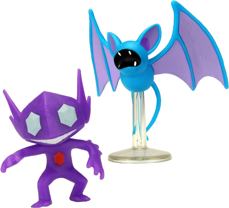 Sableye vs Zubat *BRAND NEW* Pokemon Battle 2-Inch Figure Pack Series 2