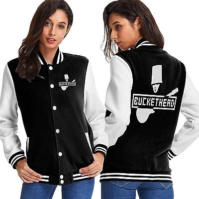 Dlovae Jacket Chaqueta Womans Buckethead Baseball Uniform: Ropa y accesorios