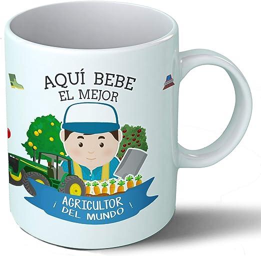 Planetacase Taza Desayuno Aquí Bebe el Mejor Agricultor del Mundo ...