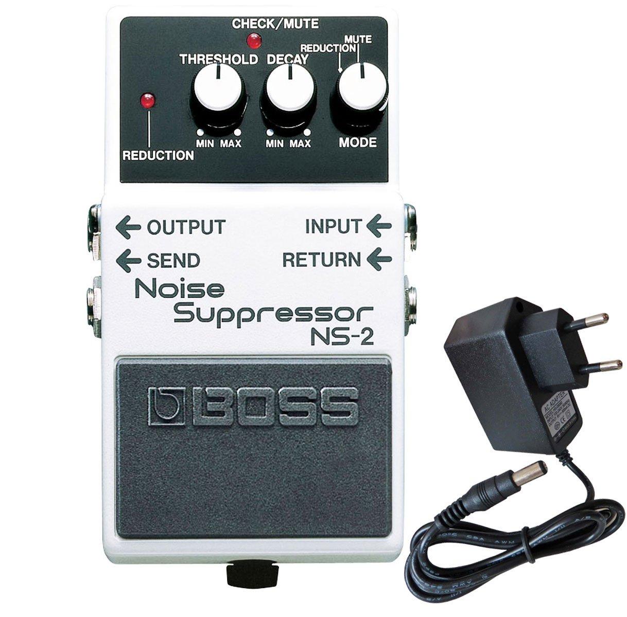 Boss NS-2 Noise Suppressor + Keepdrum Netzteil 9V Boss Guitar Equipment