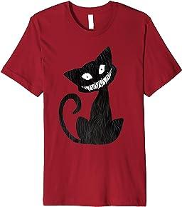 Halloween cat shirt