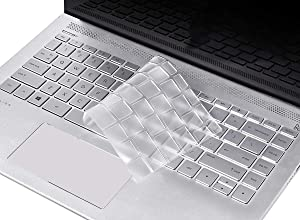 Clear Keyboard Cover Skin for HP Pavilion x360 14 Inch, 2020 2019 2018 HP 14 Inch Laptop Keyboard Cover Protector, HP 14 Inch Series Protective Keyboard Accessories