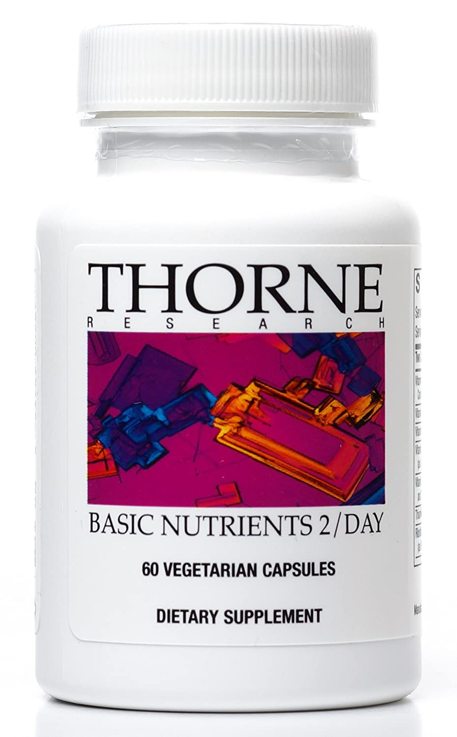 Thorne Research - Basic Nutrients 2 / Day - Complete Multivitamin/Mineral Formula