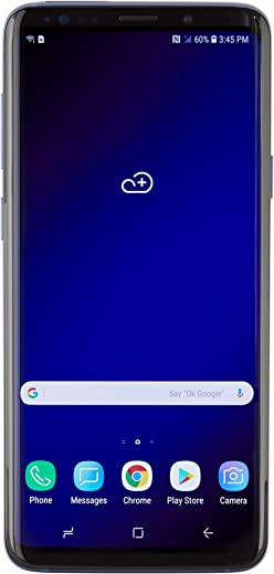 Samsung Galaxy S9+ G965U GSM Unlocked Smartphone - Coral Blue (Renewed)
