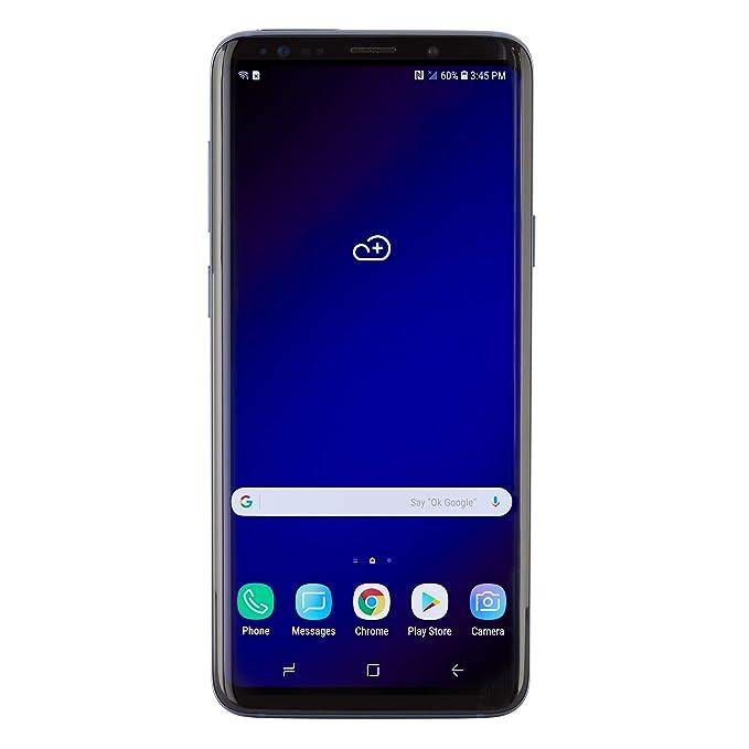 Samsung Galaxy S9 Plus Unlocked - 64GB - Coral Blue (Renewed)