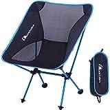 Moon Lence アウトドア チェア キャンプ 椅子 折りたたみ アルミ合金&オックスフォード コンパクト 超軽量 収納バッグ キャンプ アウトドア ハイキング 耐荷重150kg