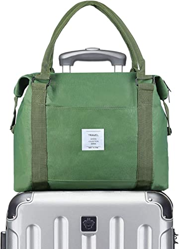 VCEC Travel bag Travel Duffle Bag Lightweight, Green, Size One_Size