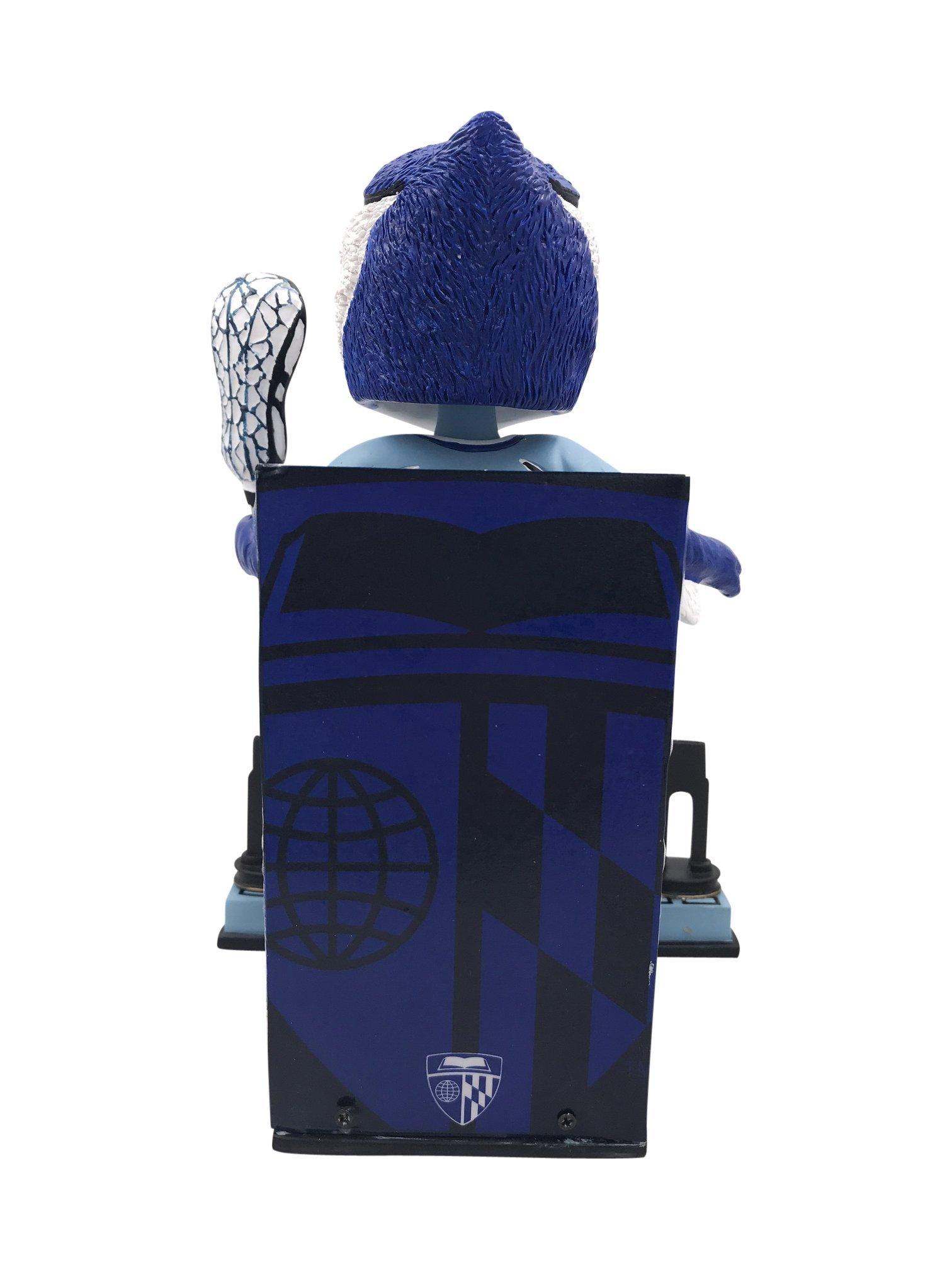Blue Jay Johns Hopkins University Men's Lacrosse National Champions Bobblehead by Forever Collectibles (Image #4)