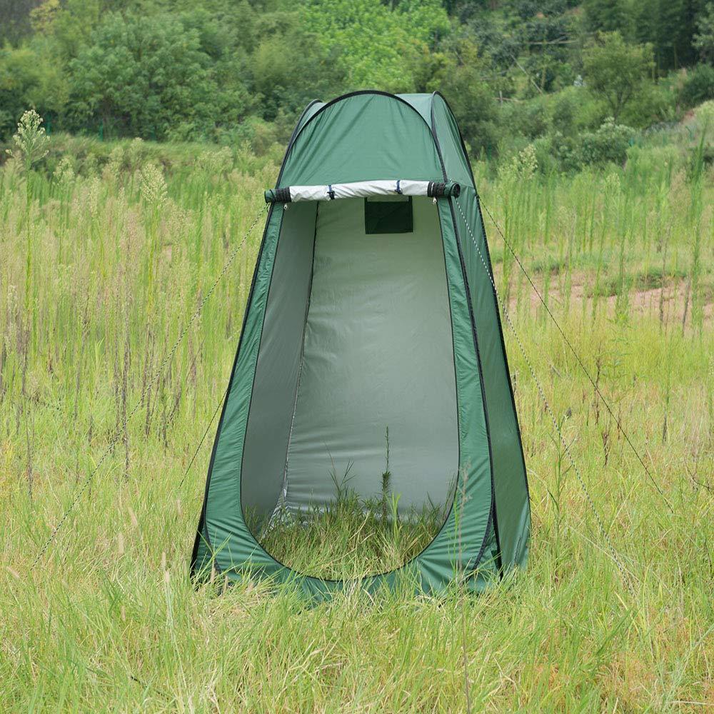 Iweibao Portable Folded Pop Up Pod Changing Room Beach Shower Toilet Tent (Green) by Iweibao