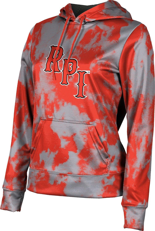 Grunge School Spirit Sweatshirt ProSphere Rensselaer Polytechnic Institute University Girls Pullover Hoodie