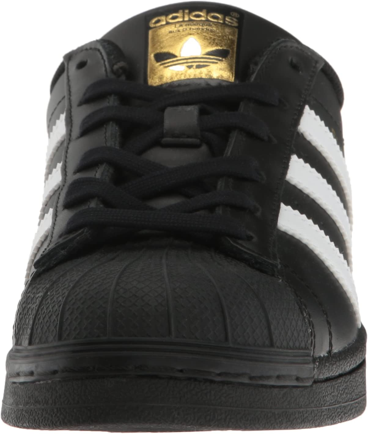 adidas Men's Superstar Trainers Black/White/Metallic/Gold
