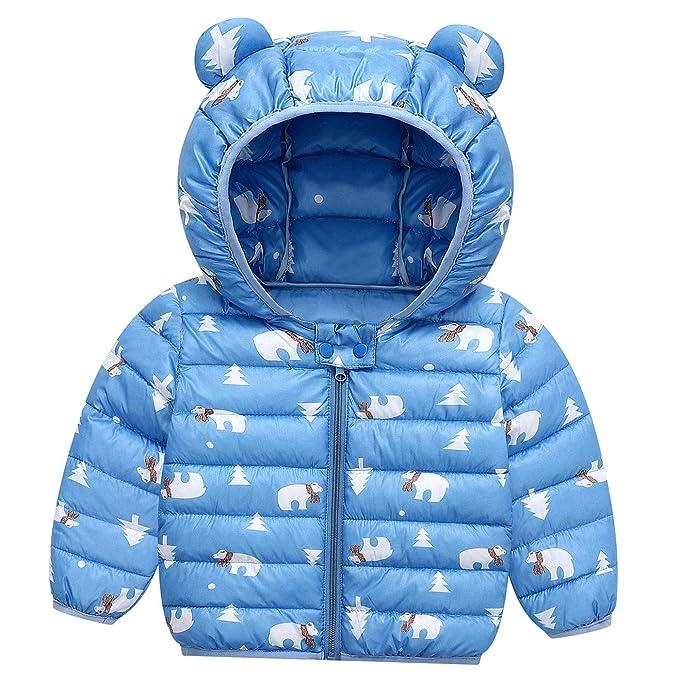 Amazon.com: Happy Cherry - Abrigo de invierno para bebé ...