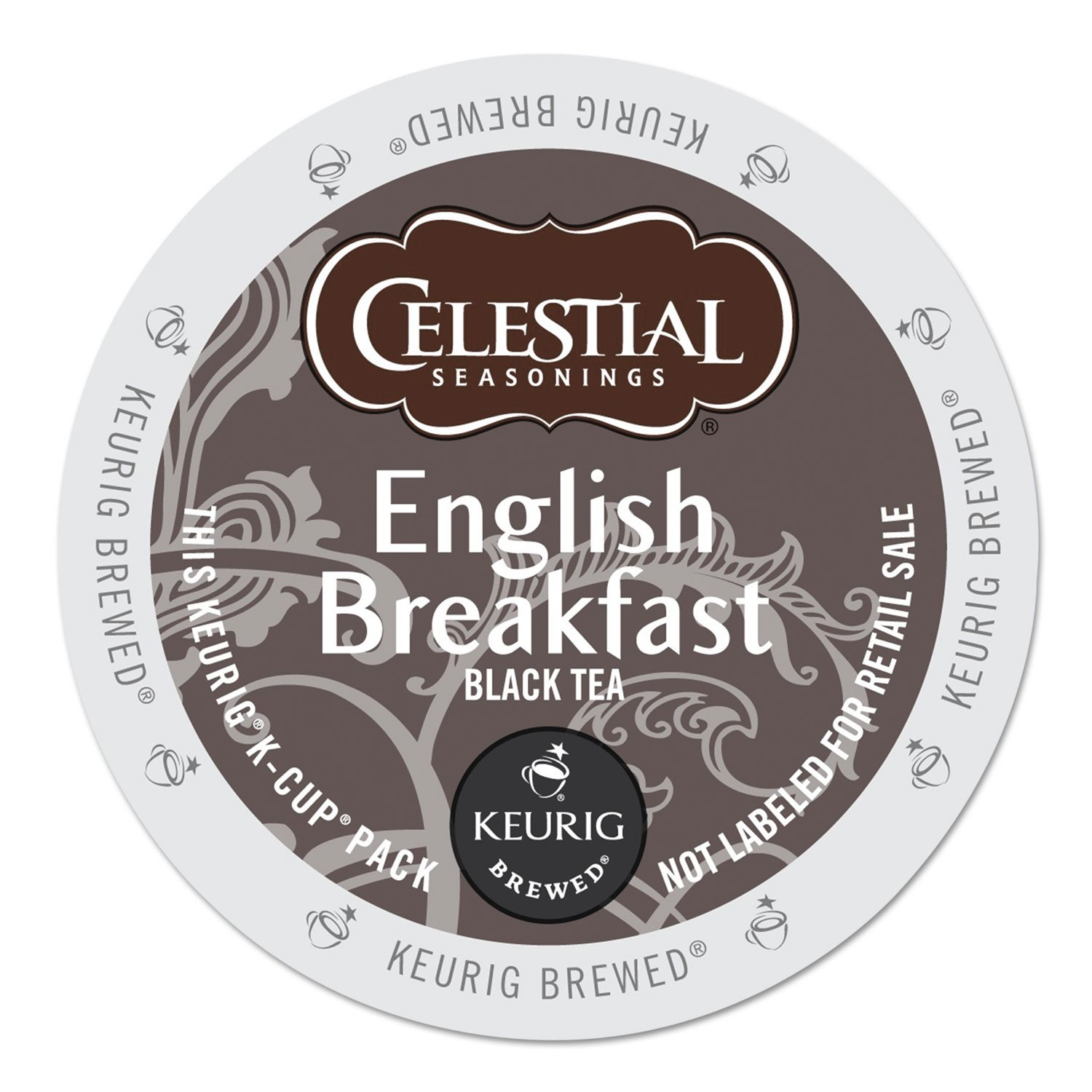 Celestial Seasonings 14731CT English Breakfast Black Tea K-Cups, 96/carton 71fU-hjH2BmL