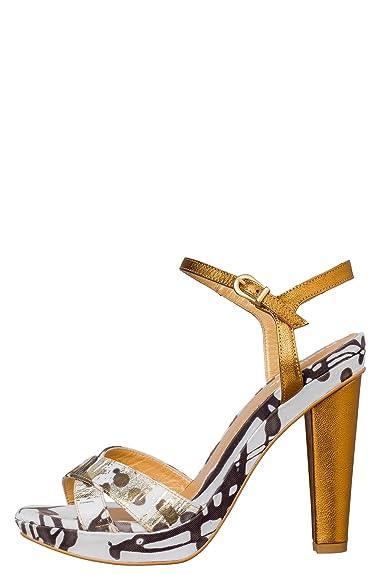 Chaussures à Talons Desigual Roca nc Pointure 40 couleur Dore G2lLa