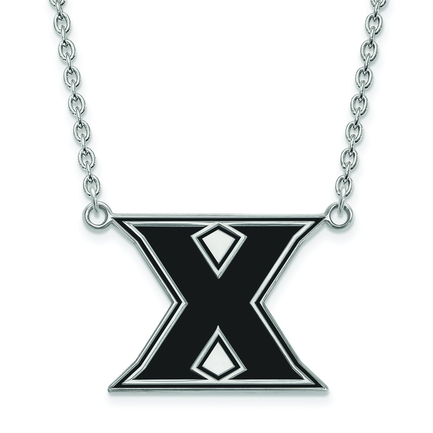 Xavier Large (3 / 4インチ) エナメルペンダントW/ネックレス(Sterling Sliver)   B01JAOOK7K