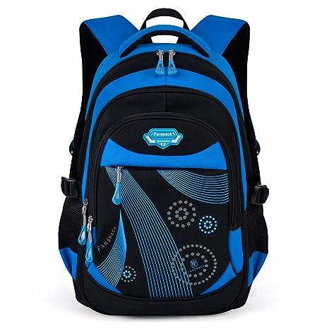 Mochilas Escolares, Fanspack mochilas escolares niños mochila impermeable mochilas infantiles (Azul)