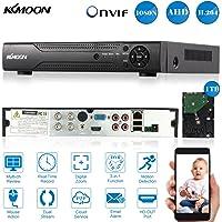 KKmoon 4 Canal AHD DVR/NVR/HVR Grabadora de Video