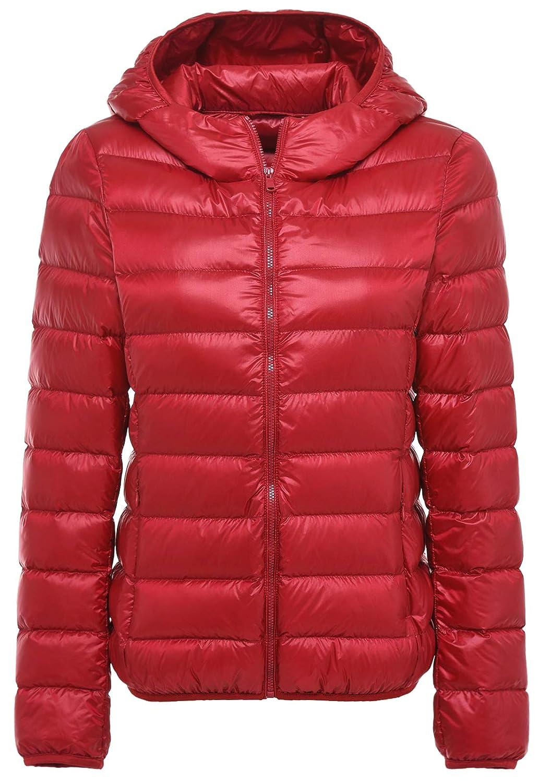 HUHU833 Women Raincoat Solid Hooded Rain Jacket Outdoor Plus Waterproof Windproof