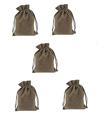 Amazon.com: Bolsas de arpillera Meluoge, bolsas de algodón y ...