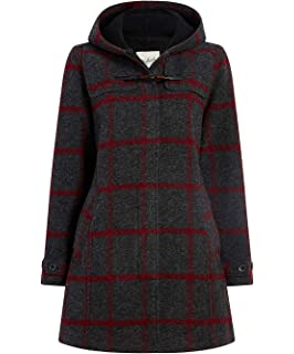 Amazon.com: Woolrich Womens Chilly Days Hooded Wool Jacket ...