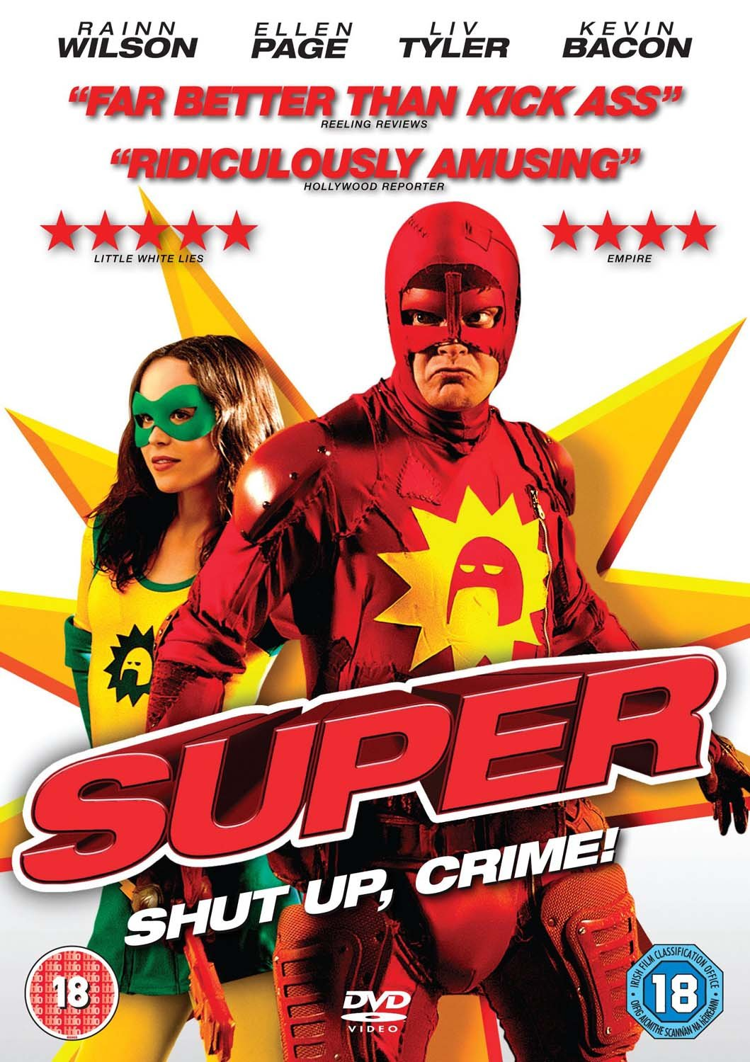 Amazon.com: SUPER (2010) [DVD]: Movies & TV