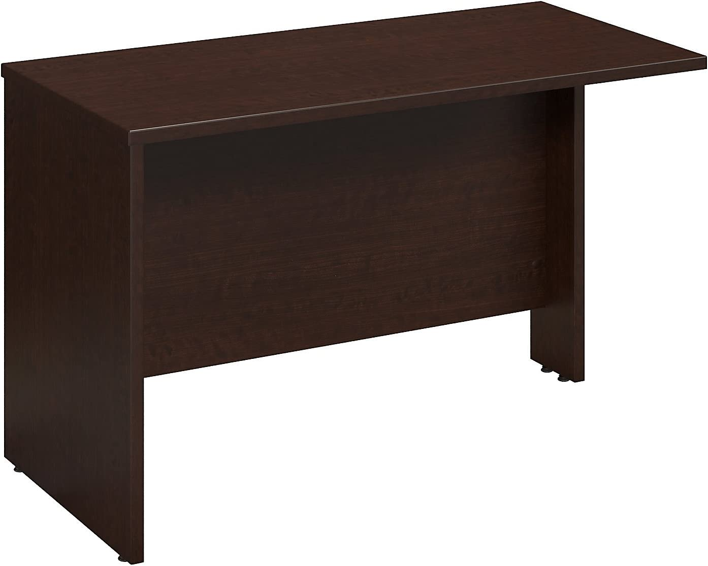 Bush Business Furniture Series C 48W x 24D Bridge/Return in Mocha Cherry