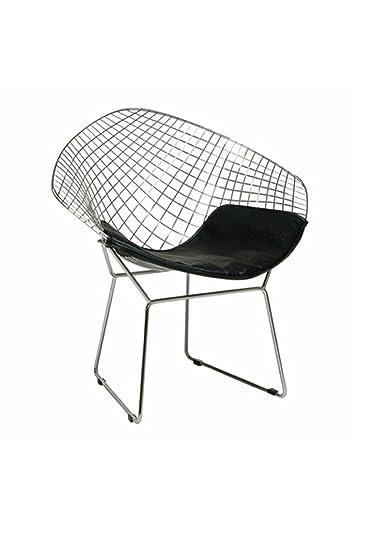 Fabulous Amazon.com: Pangea Home Lexi Wire Mesh Lounge Chair, Black  JU52