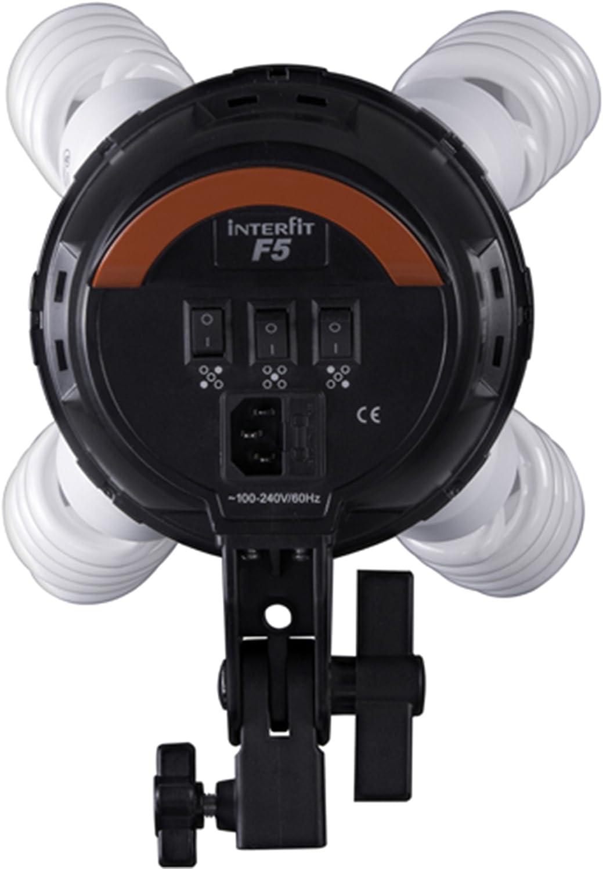 Interfit F5 3-Head Continuous Light Set