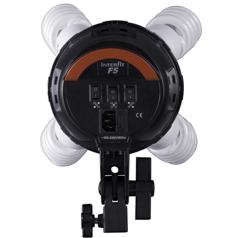 Interfit F5 2-Head Continuous Light Set