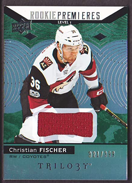 the latest 1f6bd 99324 2017-18 Upper Deck Trilogy Hockey Green #51 Christian ...