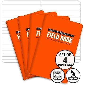 powerful The Indestructible, Waterproof, Tearproof, Weatherproof Field Notebook