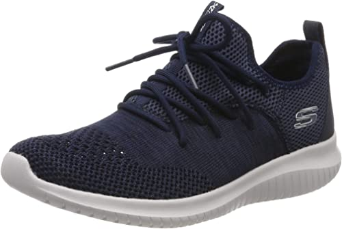 Skechers Damen Ultra Flex windsong Sneaker, blau