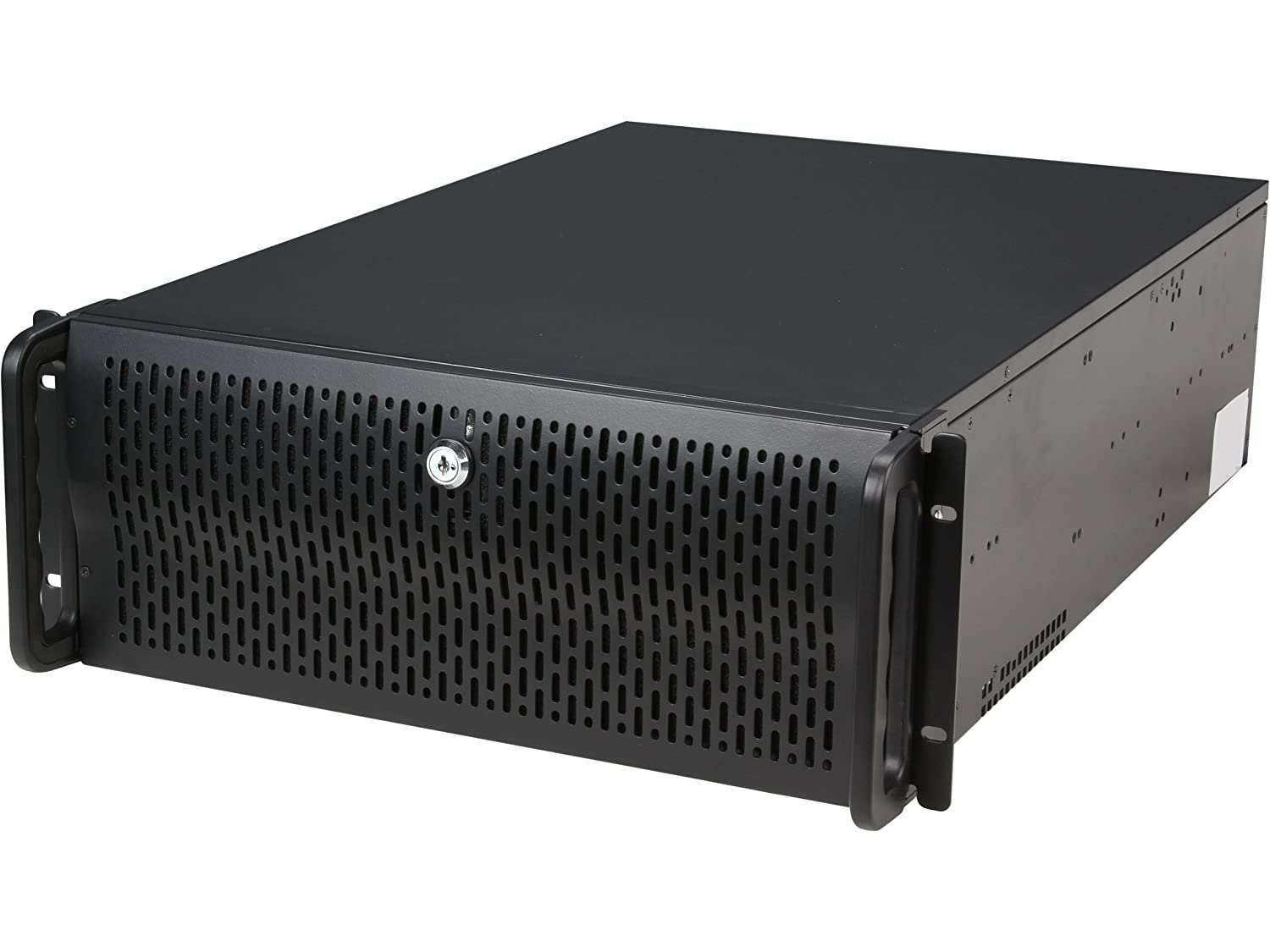 Rosewill 4U Server Chassis/Server Case/Rackmount Case, Metal Rack Mount  Computer Case with 12 Hot Swap Bays & 5 Fans Pre-Installed (RSV-L4412)