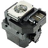 SIMP プロジェクター 交換用 ランプ ELPLP58 / V13H010L58 (汎用) EPSON エプソン EX3200/EX5200/EX7200; 1220/1260/S9/X9/S10+ 対応 [並行輸入品]
